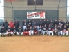 2014 Bison Baseball Alumni Game Group Shot